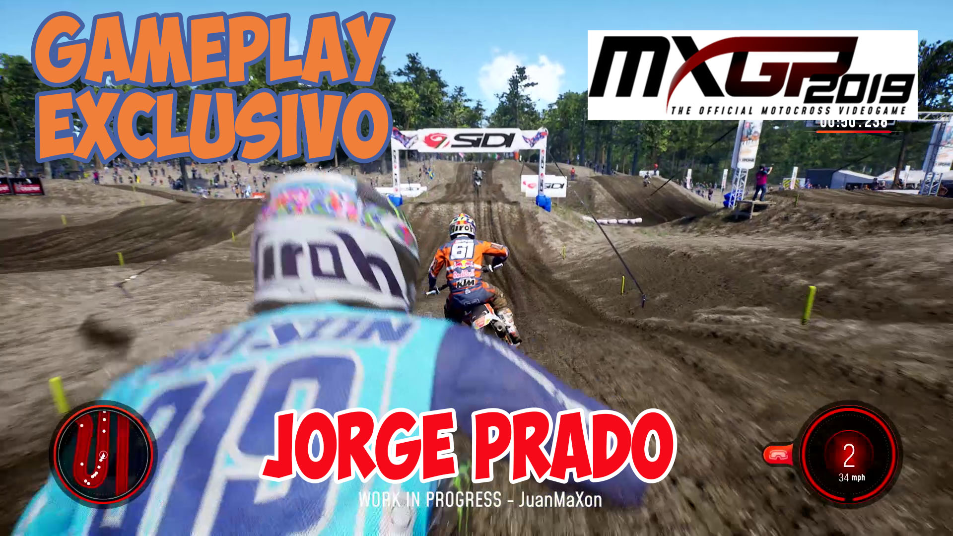 MXGP 2019 Gameplay Exclusivo
