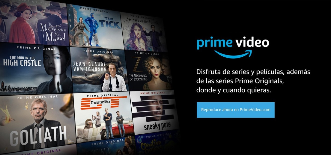 Amazon Prime Video por fin compatible con ChromeCast