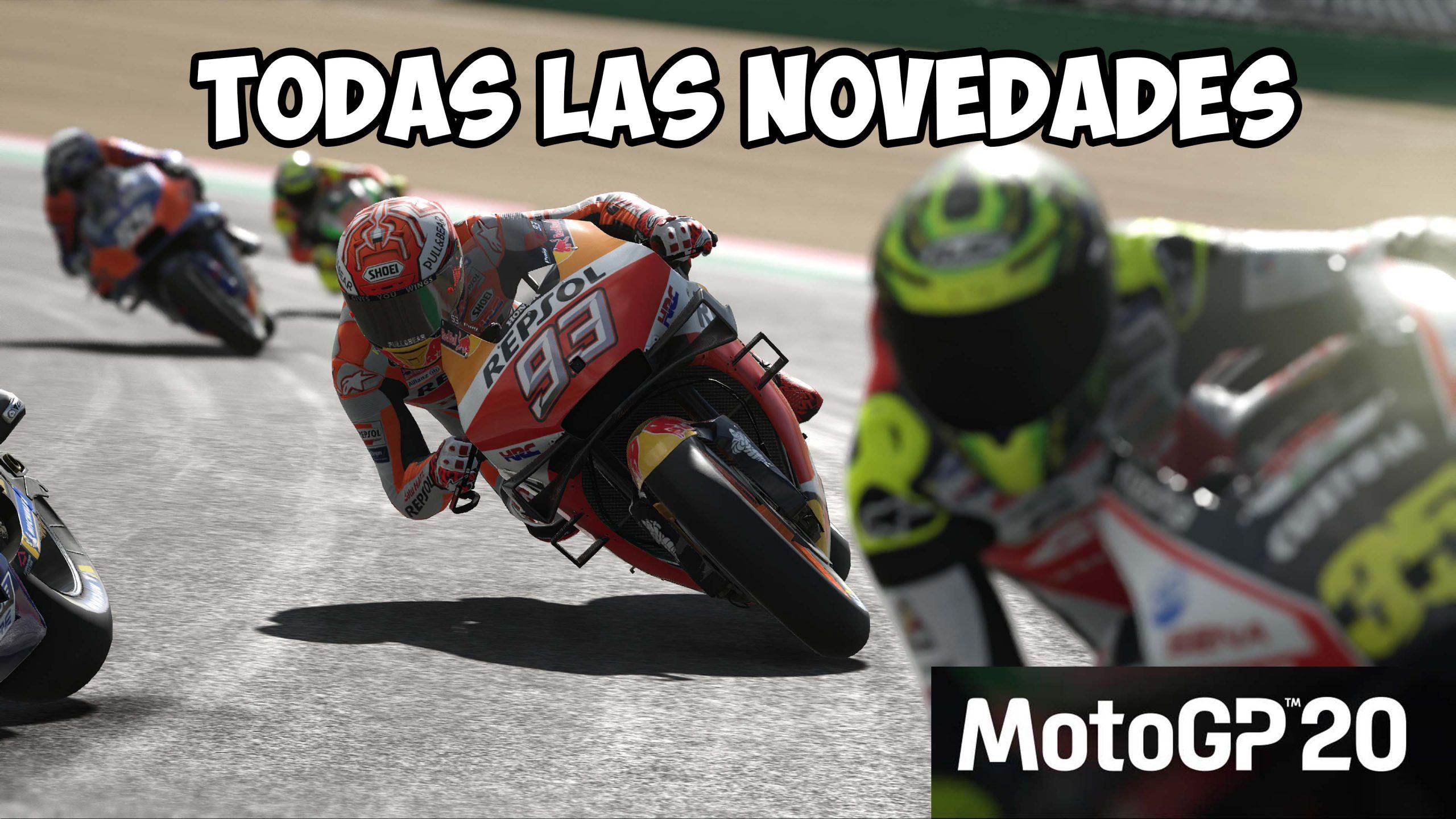 Todas las novedades del MotoGP 20 con lanzamiento el 23 Abril
