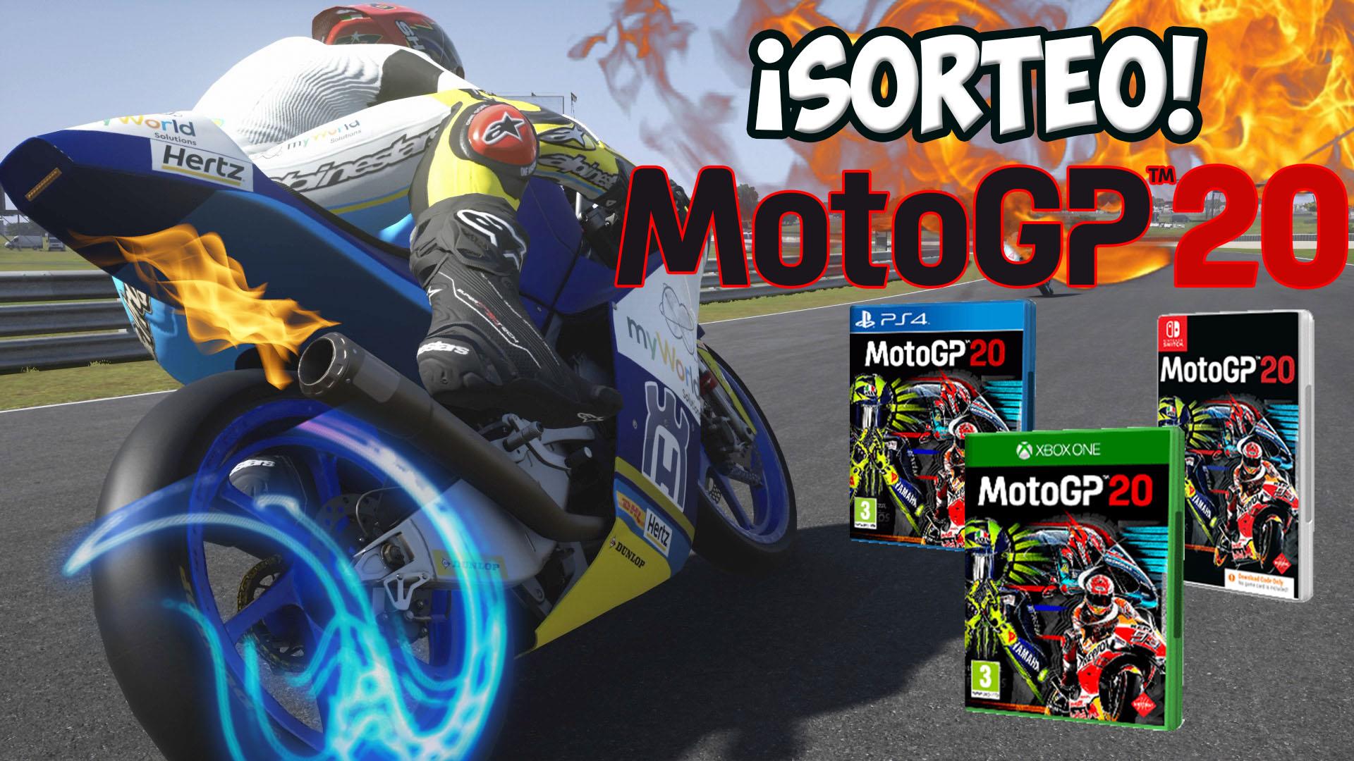 Gran Sorteo Mundial de 5 juegos MotoGP 20